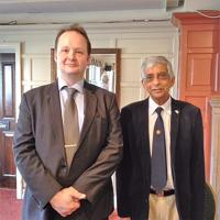 Speaker Meeting Mr Alexander Novikov  1st Secretary Press Office Russian Embassy in London