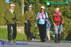 Trefonen Hill Walk Weekend - Supporting Shelterbox and Shropshire Mind
