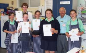 Rotary Young Chef, County School, June 2007