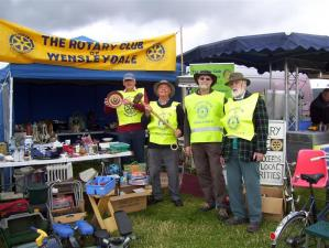 Rotary at Wensleydale Show 2015