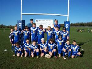 Barrow Island ARC under 10's get new Kit