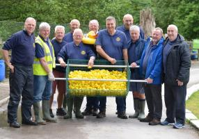 Turton's famous Duck Race
