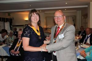 My Rotary - As the first female member in Aldridge