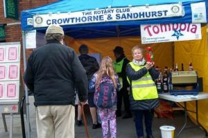 £334.69 raised at Wokingham Winter Carnival
