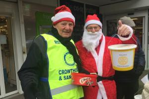 Crowthorne Santa Collection yields £304.08