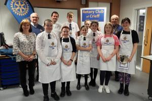 Rotary Young Chef competition - @ Strathearn Campus