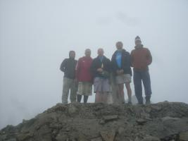 14 July 2013 Ben Nevis climb in aid of Parkinson's