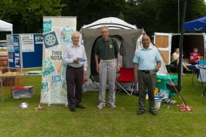 Rotary Awareness at Ham Fair 2014