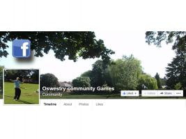 Oswestry Community Games, Cae Glas Park 12.00-4.00pm