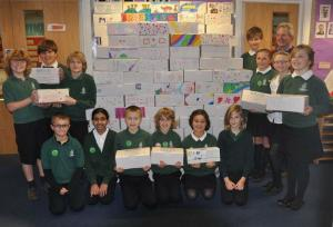 Rotary Shoebox Scheme - Trafalgar School gets involved
