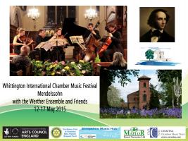 Whittington International Chamber Music Festival, May 2015