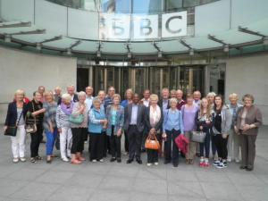 BBC tour and barbeque 30 July 2015