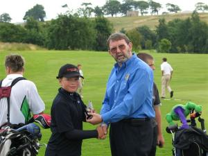 U16 Golf at Grangemouth