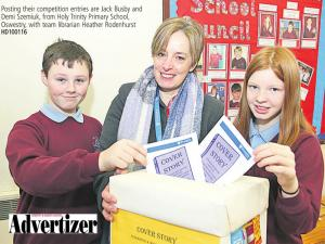 Closing Date for 'Cover Story' Primary School Literature Competition