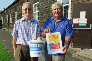 Rotary Club Supports Coin Collection for Midlands Air Ambulance