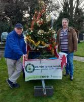 John Yeomans and Graham Barsby Bishop Auckland Rotary Club