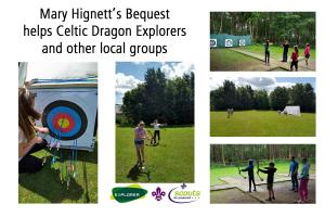 Grant from Mary Hignett Bequest helps Celtic Dragons Explorers