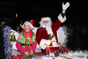 THE ROTARY CLUB OF HOUGHTON-LE-SPRING HELPS SANTA