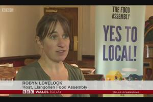 Lunchtime Meeting - 12.45pm - Speaker Robyn Lovelock of the Llangollen Food Assembly