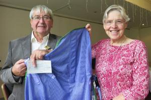 Disabled Swimming Club Receives Help for New Hoist