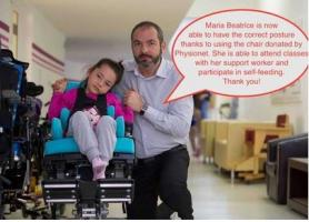 Burnham Beeches Rotary supports Physionet by collecting used mobility equipment