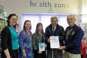 Launch of Oswestry Rotary Club and Oswestry Library Joint Health & Wellbeing Programme 2018