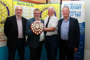 The 25th Annual Rotary Charity Golf Day raises £2,400 for Inner Flame