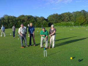 Croquet Evening ~ July 2007
