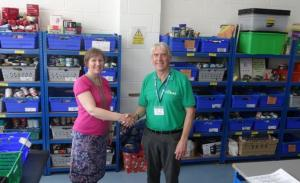 Tony Cox    E G Foodbank at the Jubilee Centre
