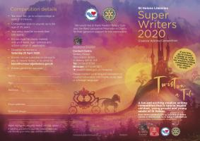 ST HELENS SUPER WRITERS 2020 : UPDATE