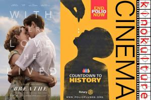 Collection for End Polio Now @ Kinokulture Screenings of 'Breathe'