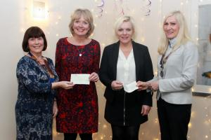 Presentation of funds to Swindon Women's Aid