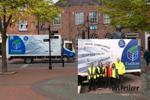 EVAStore/Rotary/Oswestry Town Council Shredding Event @ The Bailey Head