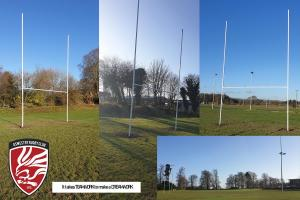 Mary Hignett Bequests Supports Oswestry Rugby Club Posts