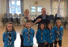 Presentation to Scouts