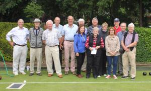 Report on the Annual Bowls match