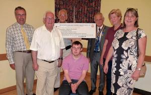 24 July 2016: Cheques presentation event