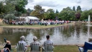 Pinner Association concert in the park