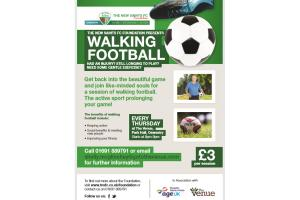 TNS Walking Football for the Over 50s