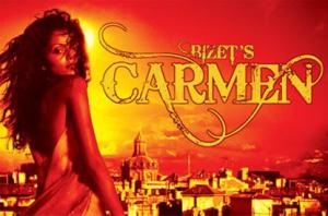 VISIT TO SEE CARMEN AT THE O2 ARENA