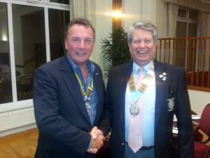 DG William Harmsworth visits the Club