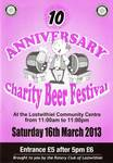 2013 (10th) Beer Festival Programme