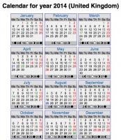 Calendar Instructions for mobiles and tablets
