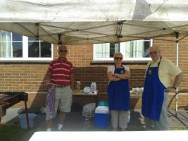 Barbeque for Lyneham Primary School Fete