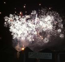 Fireworks extravaganza at Haylands school