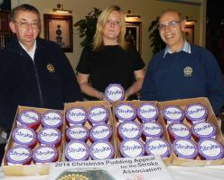 2014 Christmas Pudding Appeal for Stroke Association