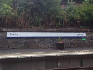 Cambuslang Station celebrates Commonwealth Games