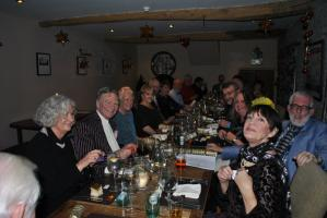 Christmas meal at the Stagg Inn, Titley 7 for 7.30pm