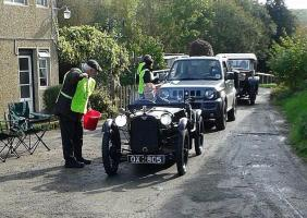We help with the VSCC hill climb rally parking