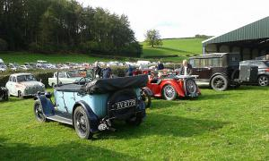 Vintage Sports Car Club hill climb Oct 2014